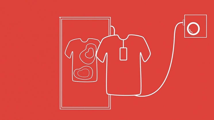 potentially sinister heat pump heart t-shirt graphic
